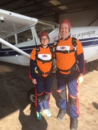 Beth and Iain's Sky Dive for Autism Initiatives