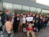 Southport College help spread the festive cheer!