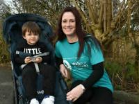 Gillian to take on 10,000 step challenge for her son