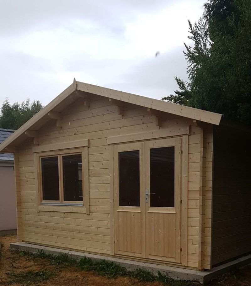One of the new sensory cabins